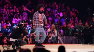 Les Twins Vs Lil'O&Tyger B Juste Debout 2011 Semi-Final | YAK FILMS