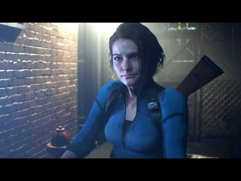 Resident Evil 3 Remake Demo mod  Jill B.S.A.A Outfit Gameplay