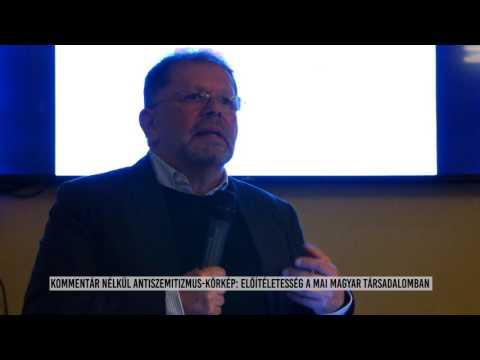 Kerekasztal beszélgetés az antiszemitizmusról 2017