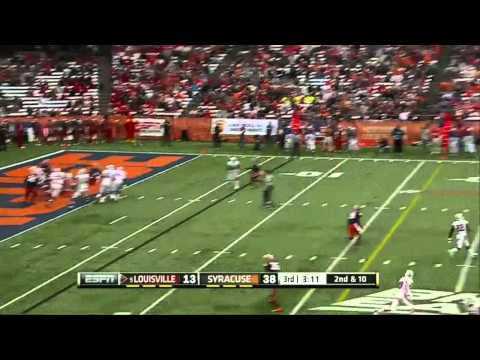 Teddy Bridgewater vs Syracuse 2012