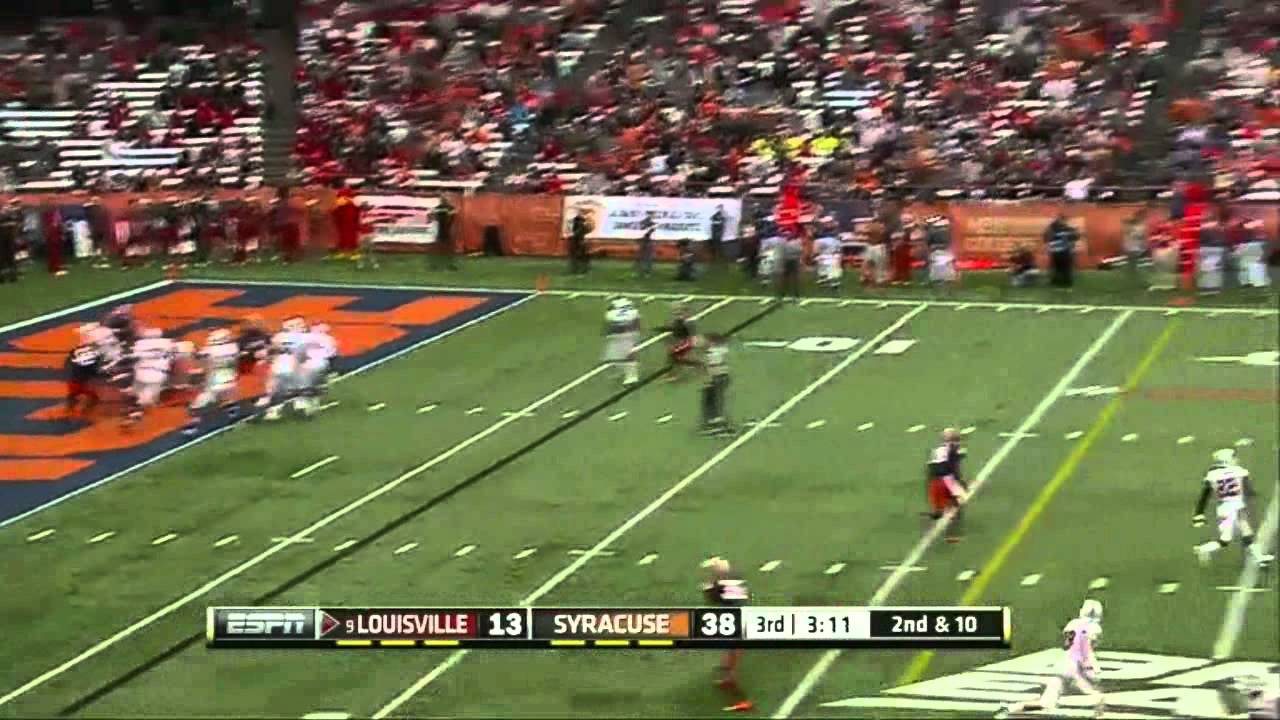 Teddy Bridgewater vs Syracuse (2012)
