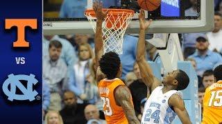 North Carolina vs. Tennessee Men's Basketball Highlights (2016-17)