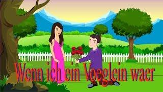 Wenn Ich Ein Vöglein Wär | Kinderlieder Zum Mitsingen | Kinderlieder Deutsch