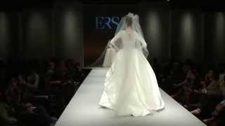 Ersa Atelier - FW15 - Short Preview of Bridal Runway Show at Pier 94