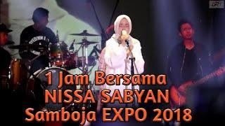 Video LIVE! 1 JAM bersama Nissa Sabyan di Samboja EXPO Kaltim 2018 MP3, 3GP, MP4, WEBM, AVI, FLV November 2018