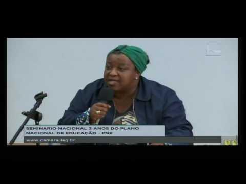 Macaé Evaristo foi à Câmara dos Deputados debater o Plano Nacional de Educação