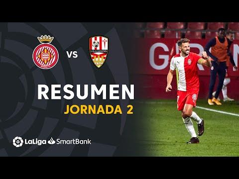 Resumen de Girona FC vs UD Logroñés (2-0)