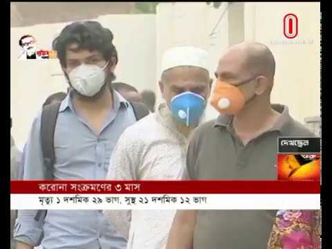 3 Months of Covid infection (06-06-2020) Courtesy: Independent TV