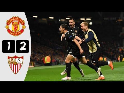 HD| Man United 1-2 Sevila - All Goals & Highlights - UCL - 13/3/18 - Sportalios TV