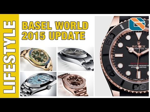 Basel World 2015 New Rolex Tudor & Omega Watches #BaselWorld