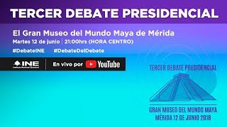 Video Tercer Debate Presidencial #Elecciones2018 MP3, 3GP, MP4, WEBM, AVI, FLV Agustus 2018