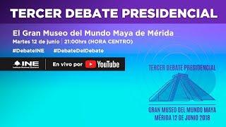 Video Tercer Debate Presidencial #Elecciones2018 MP3, 3GP, MP4, WEBM, AVI, FLV Juni 2018