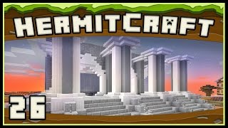 HermitCraft 4: Building The Structure Of The Courthouse And A Shopping Spree