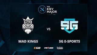 Mad Kings vs SG, The Kiev Major SA Main Qualifiers