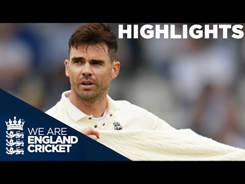 Pakistan Push On As England Miss Chances On Day 2: England v Pakistan 1st Test 2018 - Highlights (видео)