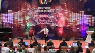 Elisabeth Kleinstück & René Kleinstück - Deutsche Meisterschaft 2014