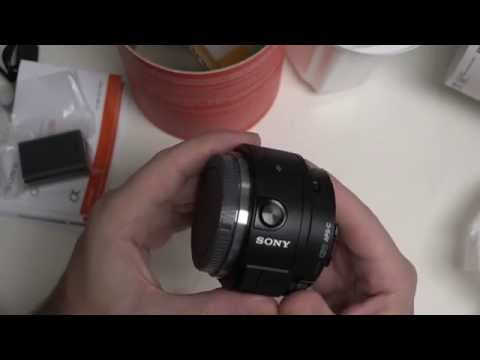 Sony Alpha QX1 Unboxing and First Look