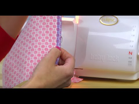 How to Thread a Baby Lock Eclipse DX Serger