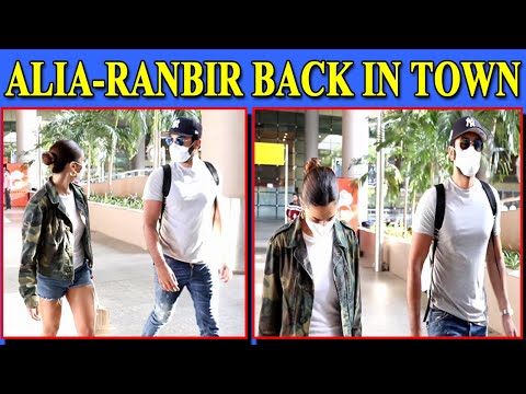 Alia and Ranbir return to bay in style post fun filled vacation in Maldives