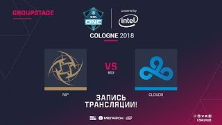 NiP vs Cloud9 - ESL One Cologne 2018  - de_inferno [ceh9, yXo]