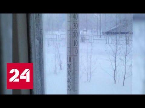 Минус 62: в Югре узнают температуру по ощущениям (видео)