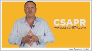 Campagne du CSAPR pour la Chambre Des Métiers Jean-François MAILLOT