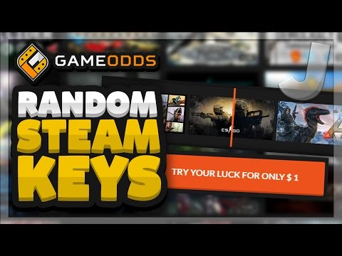 GameOdds.gg 10x Random MYSTERY KEYS OPENING + RANDOM BONUS Game (Random Steam Games #3)