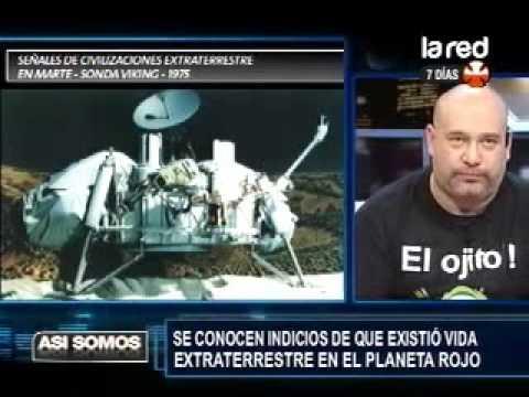 extraterrestre en marte robot curiosity salfate la posible