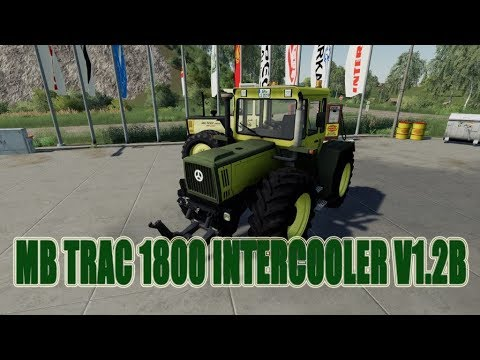 MB Trac 1800 Intercooler v1.2b