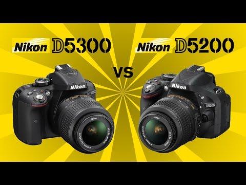 Nikon D5300 vs Nikon D5200