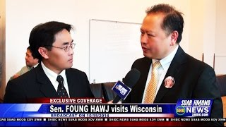 Suab Hmong News:  Exclusive with Sen. Foung Hawj in Wisconsin