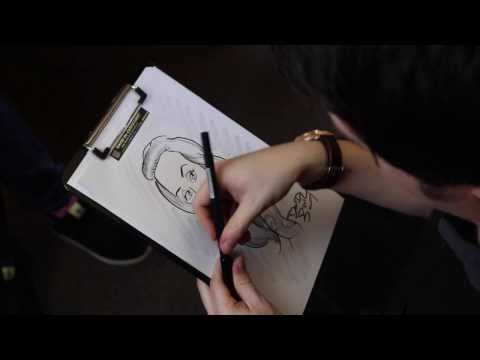 David The Caricaturist Video