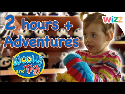 Woolly and Tig - Hours of Fun with Mummy and Daddy | Full Episodes | Toy Spider | Wizz