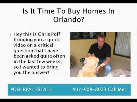 Is It Time To Buy Homes In Orlando