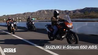 8. Suzuki V-Strom 650 ABS