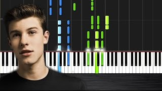 Shawn Mendes - Stitches - Piano Cover/Tutorial  Ноты и МИДИ (MIDI) можем выслать Вам (Sheet music fo