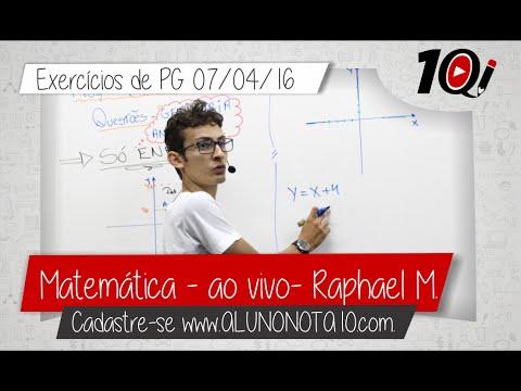 Matemtica - Exerccios PG