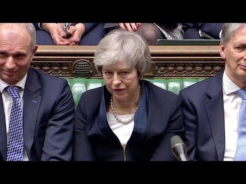 Großbritannien: Austrittsabkommen mit EU abgelehnt - krachende Niederlage für May