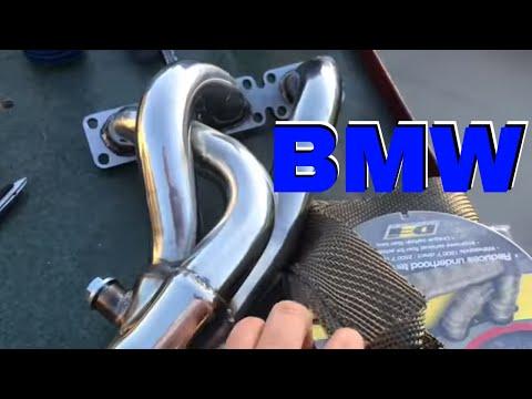 HOW TO Install Headers on a BMW 325i E46