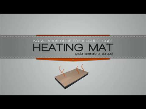 Underfloor heating mats installation guide for wood & laminate | WarmOn