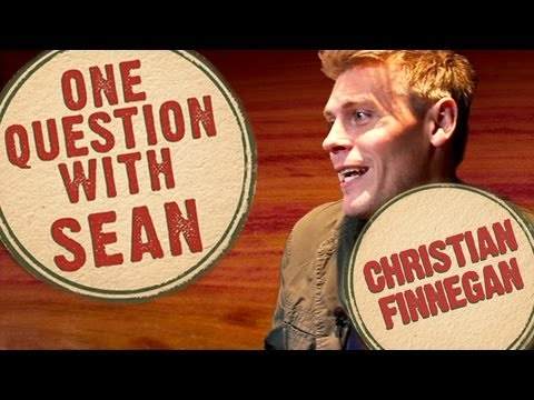 Christian Finnegan: Unnecessary Tweets from Terrible Tweeters - One Question with Sean