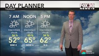 Weather for February 1, 2017
