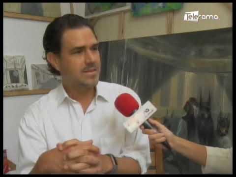 Roberto Noboa expone en CEN Quito Los Niños de los Perros