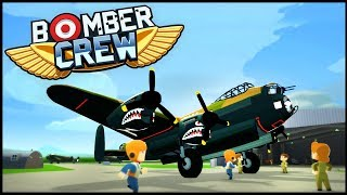 Bomber Crew - COMMAND A BOMBER CREW & RUN MISSIONS! Spitfire Protection! - Bomber Crew Gameplay