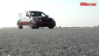 2011 Subaru Impreza WRX STI Track Tested
