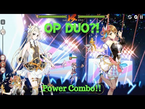 [E7] Tamarinne + Iseria In GW?! OP COMBO!! *Stats In Video!