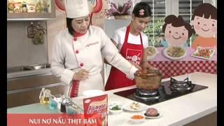 Món Ngon Mỗi Ngày - Nui nơ nấu thịt băm