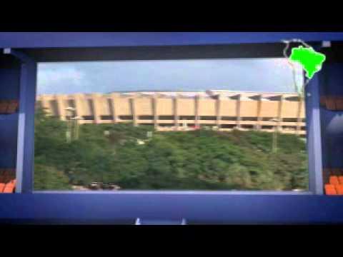 O Estádio Mineirão, em Belo Horizonte