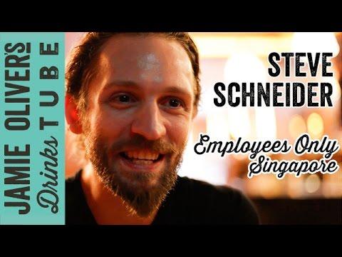 Steve Schneider | New York Bartender in Singapore | Employees Only