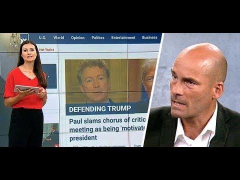 HELSINKI: Auch schärfste Kritik perlt an Trump einfac ...